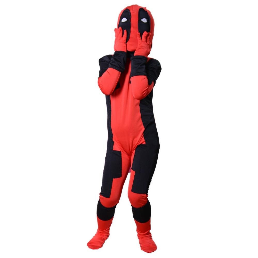 Aliexpress.com : Buy Deadpool cosplay costume halloween ...