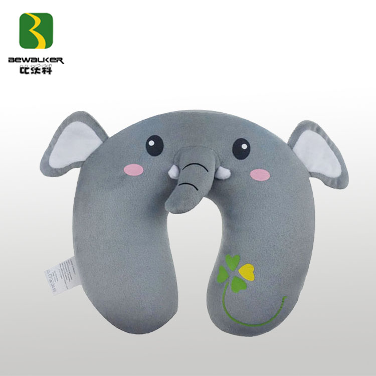 U Shape New Animal Elephant Plush Neck Pillow