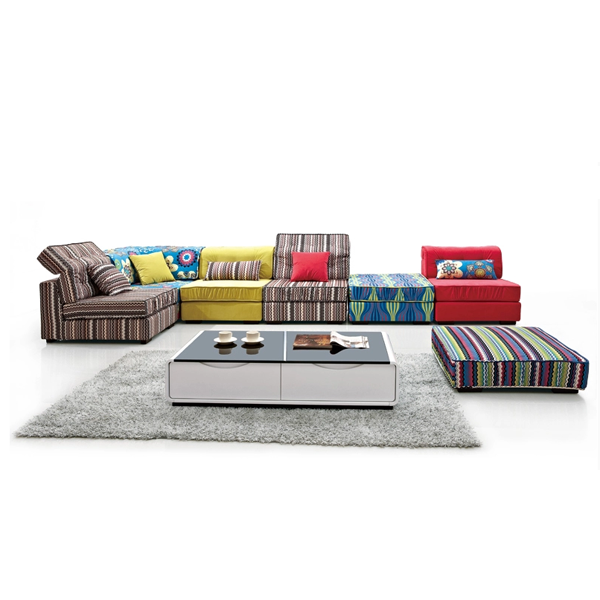 Indian Sofa Set Hot Sale,Colorful Sofa For Living Room