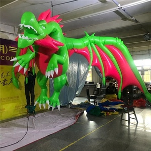 hot sale advertising high quality lovely inflatable fly dragon