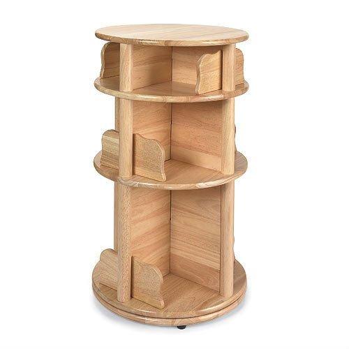 Kids Revolvable Wooden Bookcase