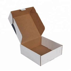 white paper packaging design custom mail boxes