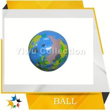 imprinted beach ball,inflatable beach ball with toy inside,factory processed colored festival balls