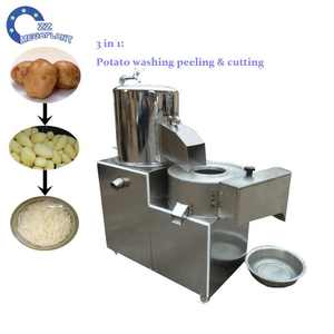 Health food equipment potato peeler and cutter used potato peeler