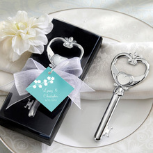 Key To My Heart Victorian Style Bottle Opener Wedding Gift