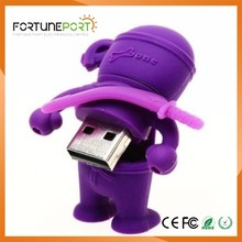 2017 Made In China Pvc Rubber Usb Flash Drive Unique Design Innovation Usb Disk