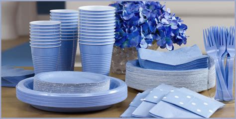 Colorful Lovely Stripe Party Tableware Set for Birthday Wedding Party Supplies