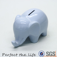 Ceramic Elephant shape Money Box, Piggy Bank