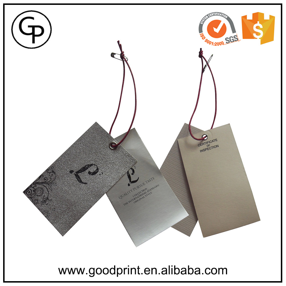 Foil Stamping Brown Kraft Paper Business Name Card Craft Business