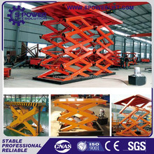 Made in China hot sale abroad 2 ton hydraulic scissor lift table