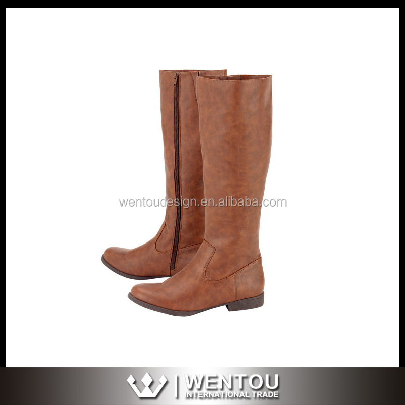 Wholesale Monogram Knee-High Riding Boots