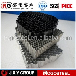 Side length 0.4-20mm AHP- Stone panel Alumiunm honeycomb for Curtain wall with A3003