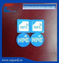 Latest technology hf nfc tag apply for Convenient people management