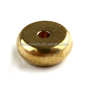 unique style jewelry findings customize brass spacer beads for jewelry making