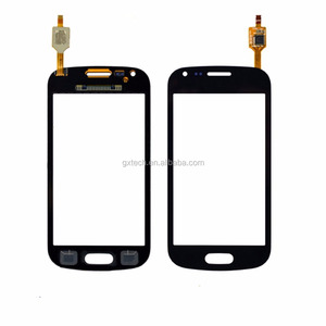 New front Touch Screen Panel Digitizer outer Glass Sensor Replacement For Samsung Galaxy S Duos S7562 S7560