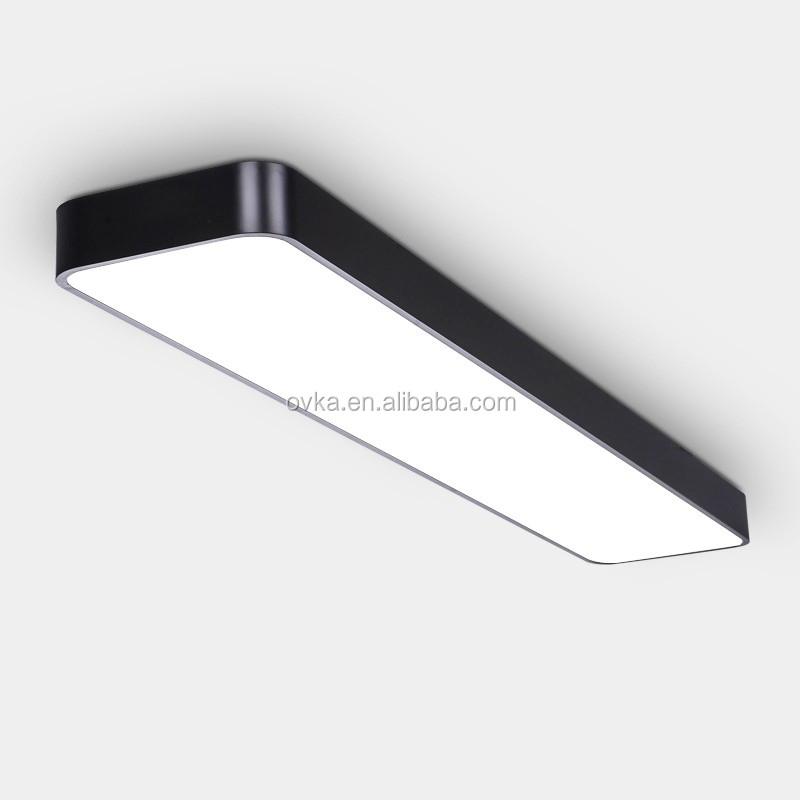 Rectangular Aluminum Penage Led Ceiling Lighting Office Down