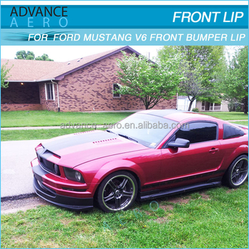 For Ford Mustang 2005 2006 2007 2008 2009 V6 2dr Bodykit Poly Urethane Front Body Kit Pu Sport Style Bodykits View For Ford Mustang 2005 2006 2007