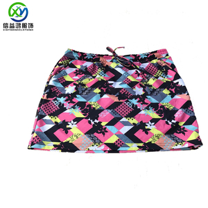 OEM sublimation quick dry sport skirt for ladies