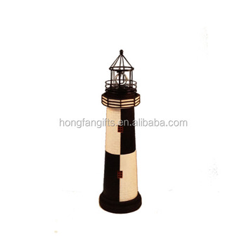 Exceptionnel Outdoor Solar Powered Lighthouse For Garden Decor