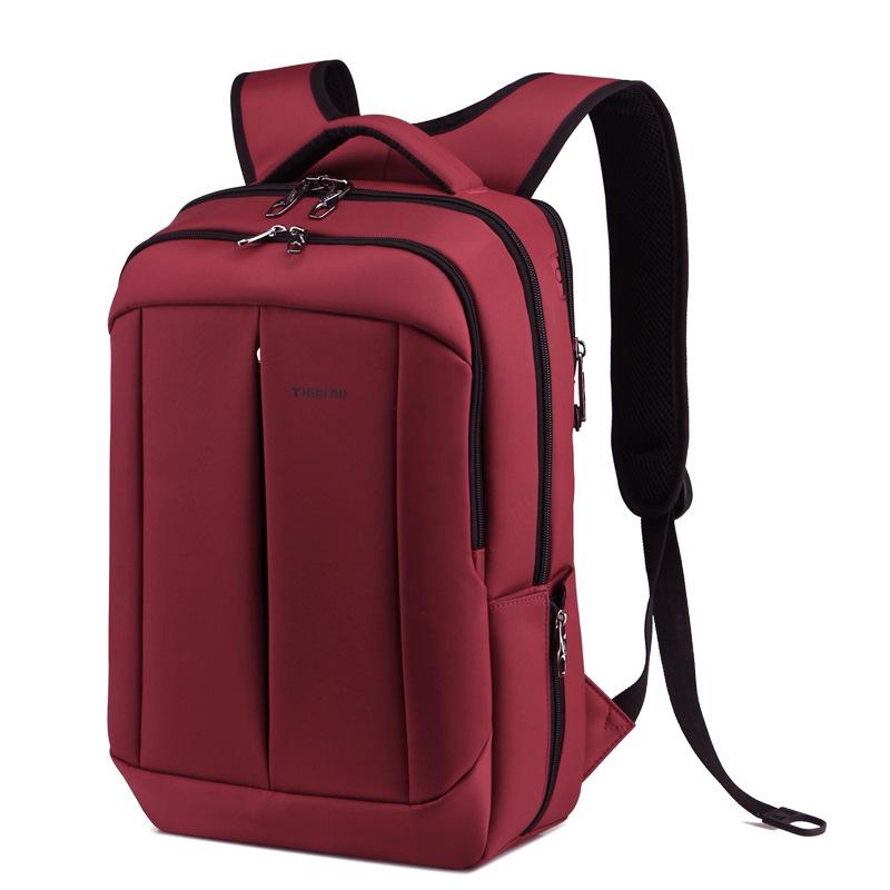 0d96b2afbf Get Quotations · Fashion Backpack Men Travel Bags Nylon Waterproof Black  Mochila Double Shoulder Bag Women Backpack For 14