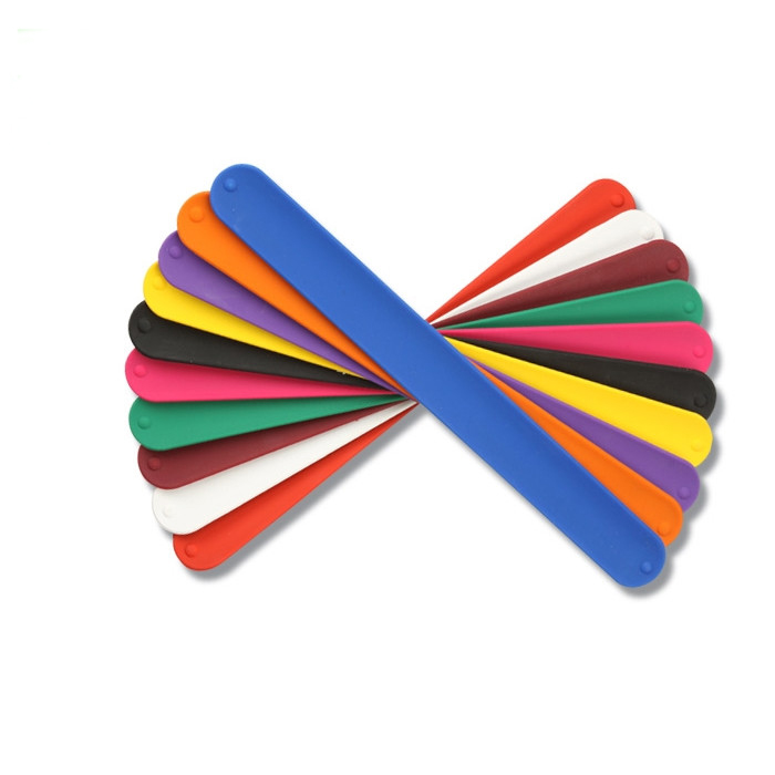 Hot!New Promotional Cheap Custom Silicone Slap Bracelet/Silicone Slap Wristband/Silicone Snap Bracelet, Any pantone colors