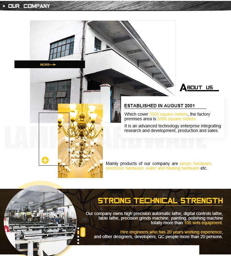 Точные персонализированные металлические Латунь Часть/латунные детали для лампы