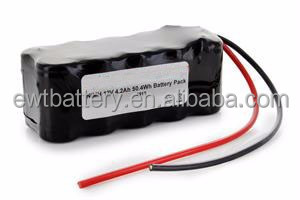 NiMH SC 12V 4200mAh Rechargeable Battery Pack samples available