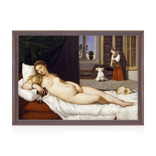 Reproduction Classical Titian Beautiful Girl Sleep Picture Canvas Oil Painting