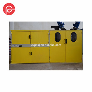 Wire surface treatment equipment / hydraulic wire descaling machine for thick wire