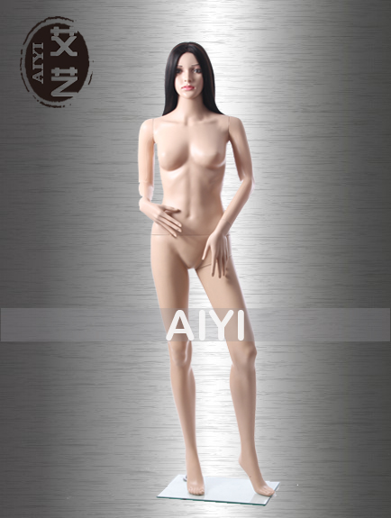 Sexy Skin Color Female Full-Figure Mannequin