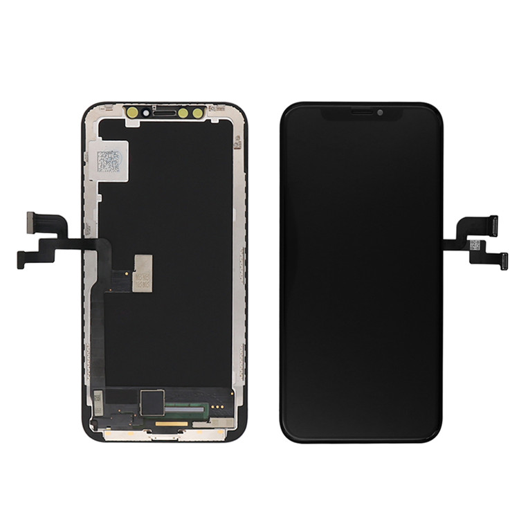 Good price high quality touch screen for iphone x lcd huaqiangbei Hot sale
