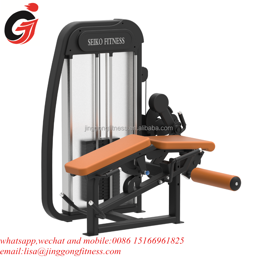 jinggong fitness equipment JG-1064 gym equipment combo machine leg extension&leg curl for sale