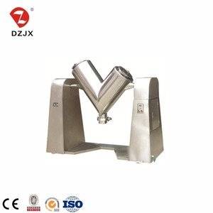 crushed rice V Type Mixer/ coffee chaffs v shape blender equipment