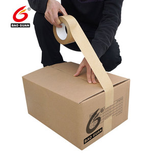 Tape Self Adhesive e Kraft Paper Gummed Tape For Box Sealing