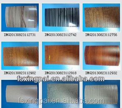 Pellicola adesiva in pvc per mobili pellicola del pvc in venatura del legno modelli film di - Pellicola adesiva per mobili ...