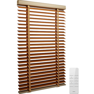 High quality 50mm ladder tape basswood wood venetian blinds for window