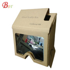 Professional supplier promotional vr 3d glasses headset cardboard google