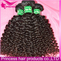 Top quality certificate hair by National Hair prodcut Supervision and Inspection Center natural curly hair extensions