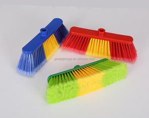 0049 Bright Colorful Middle Size Hot Sale Plastic Broom Head from China