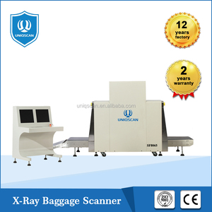 High resolution x-ray security inspection,dual energy x-ray luggage scanner 8065 with CE ISO certificated