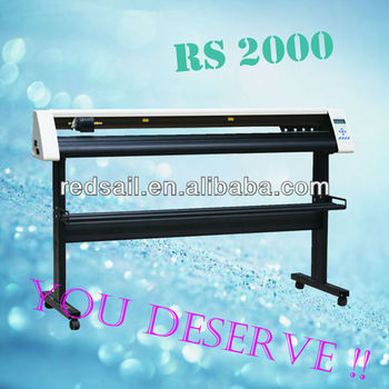 Large Format Vinyl Cutter Cutting Plotter Redsail Rs2000