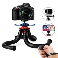 Fotopro hot selling 360 degree travel portable tripod for phone and camera mini octopus flexible tripod