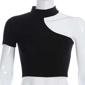 new style fancy custom cheap plain blank wholesale crop tops