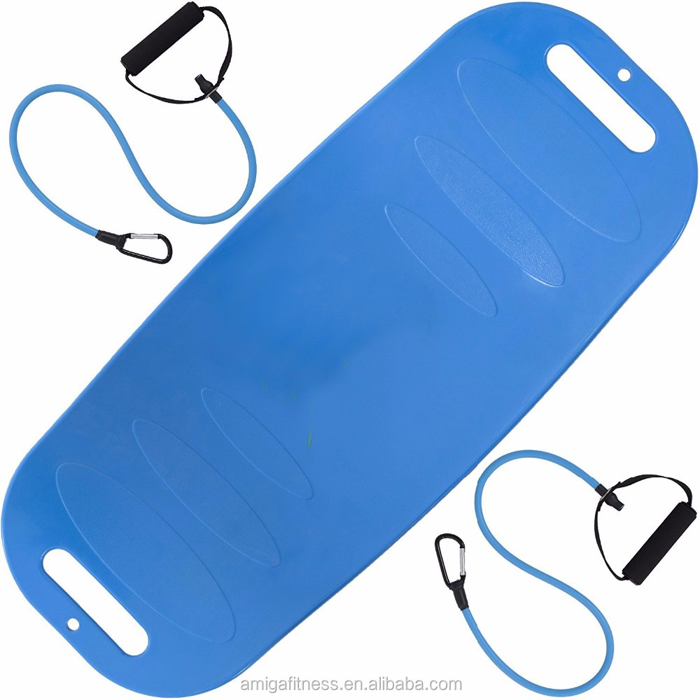 New products Twisting Fitness Board, resistance bands Balance yoga Board