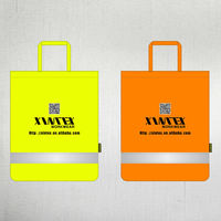 High visibility shopping bag