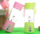 Promotional 380ML Hand Blender Bottle Wholesale /Jamun Fruit
