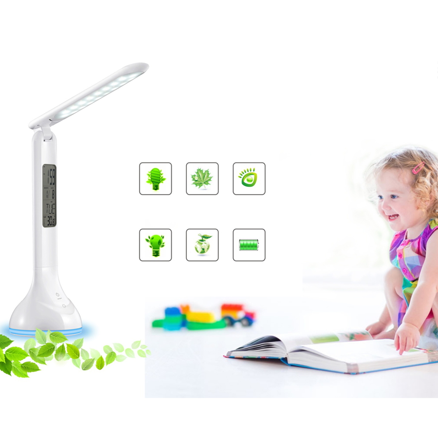 Dc5v Foldable Led Desk Lamp Touch Portable Table Light Usb