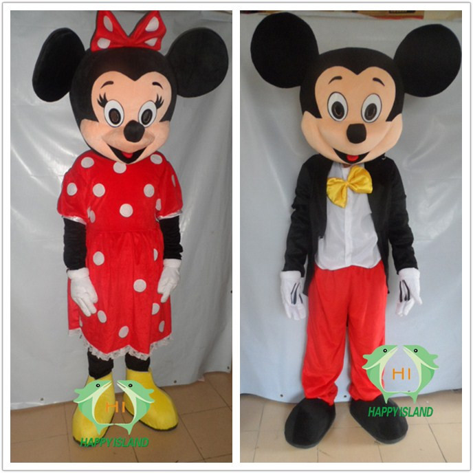 HI EN71 cartoon character mouse mascot costume with high quality for adult size,vivid mascot costume for party event