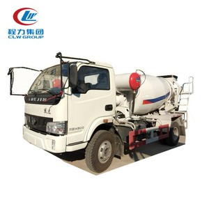 Yuejin cement mixer truck price/mini cement mixer truck/cement mixer mini truck