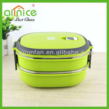 Wholesale High quality plastic lunch box office lunch boxes locked lunch box 3dc3029fd993